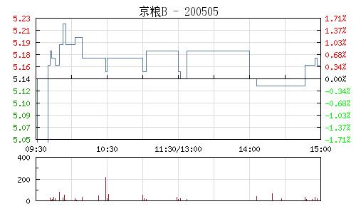 珠江B(200505)行情走势图